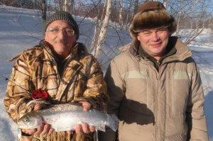 Зимняя рыбалка в Подмосковье с проживаниеим