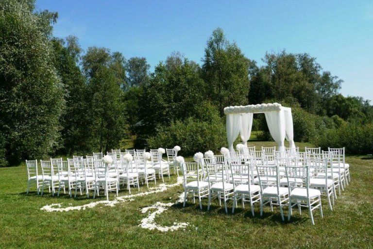 Регистрация брака на природе в отеле Морозовка