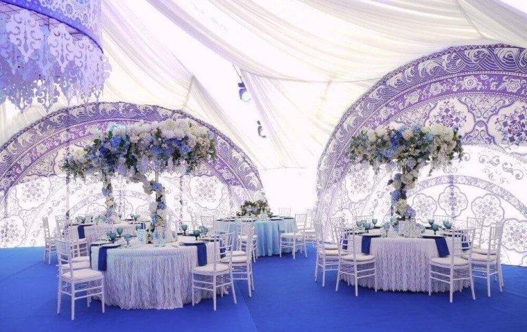 Свадьба в шатре в Морозовке