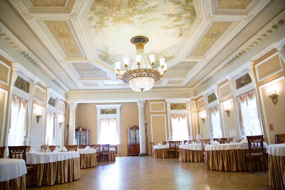 Свадьба в Подмосковье в Ресторане