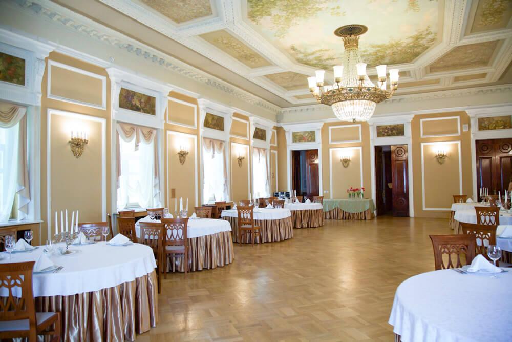 Банкетные залы для свадьбы в Подмосковье