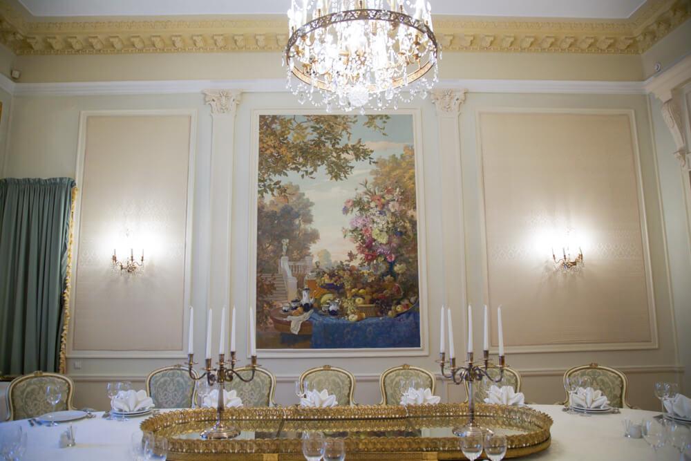 Фото малого банкетного зала в Главном корпусе