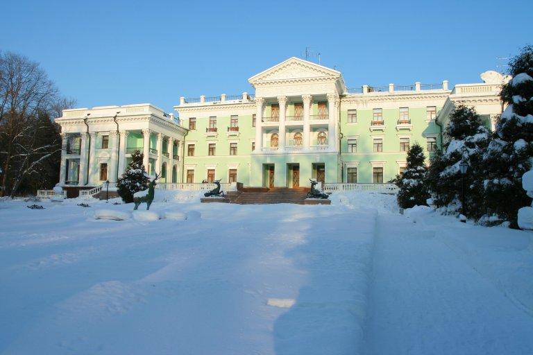 Зима в парк - отеле Морозовка