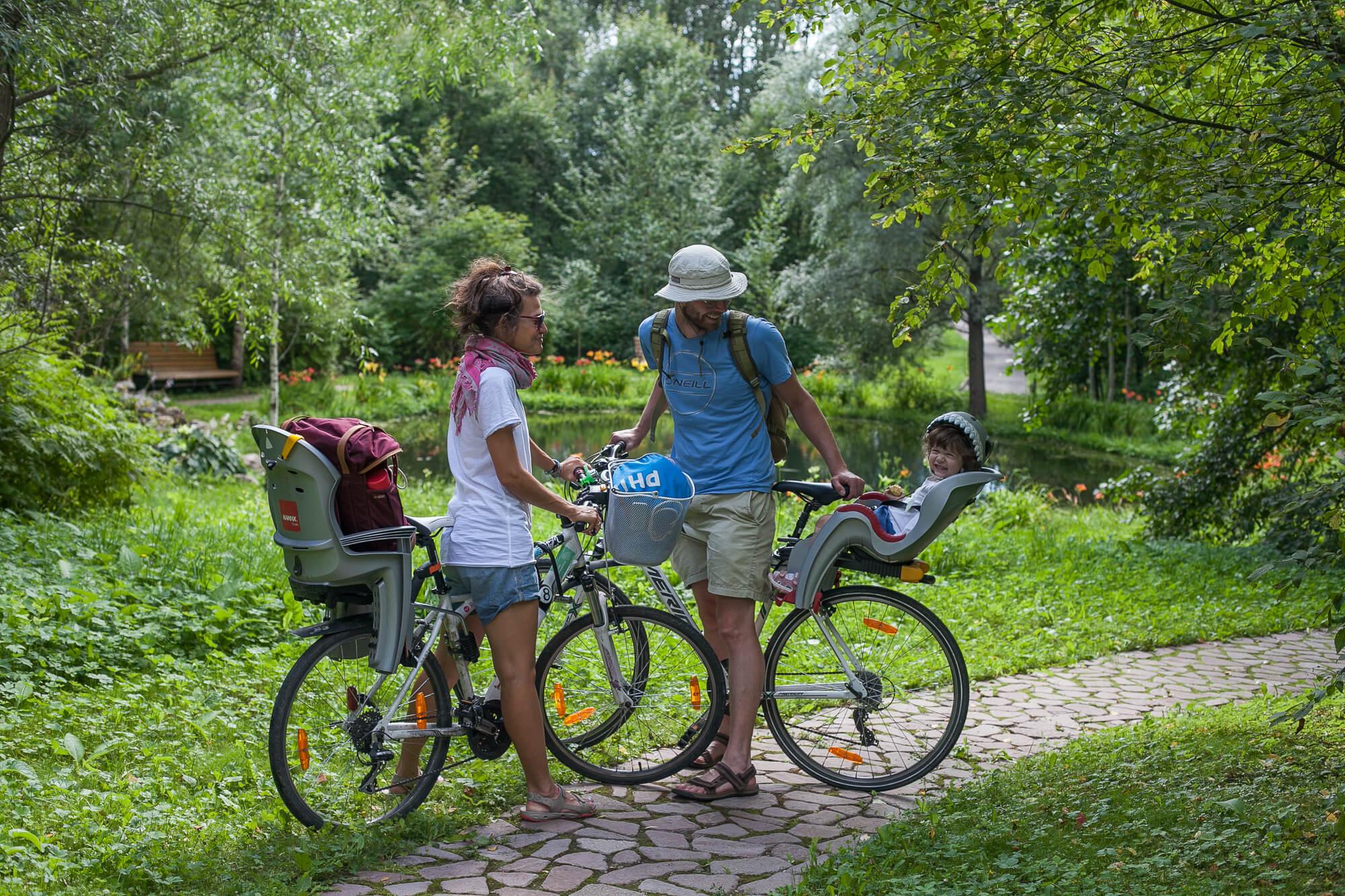 Велопрогулки по парку
