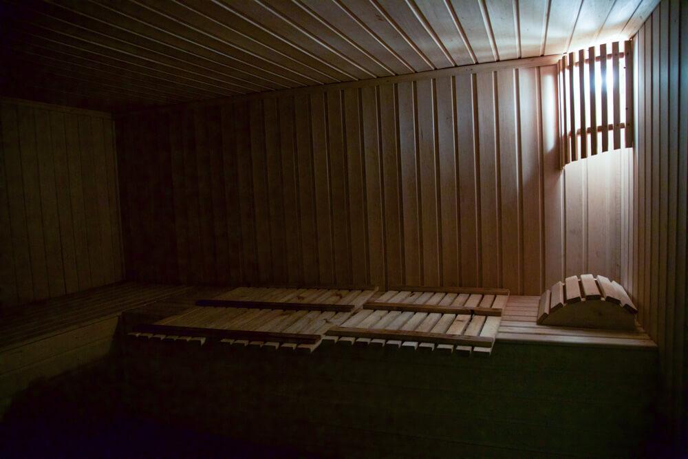 Сауна в Гостевом доме - первый этаж