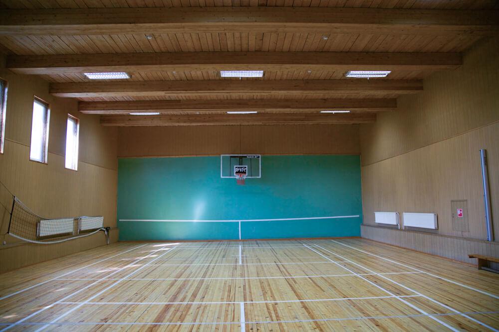 Спорт зал для волейбола и футбола