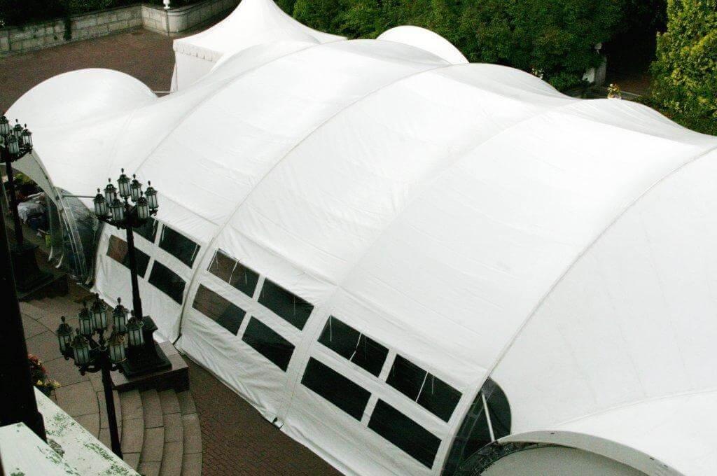 Свадьба в шатре в Подмосковье - Пансионат Морозовка Газпром