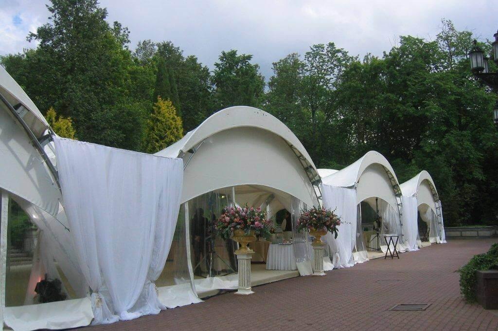 Арендовать шатер для свадьбы