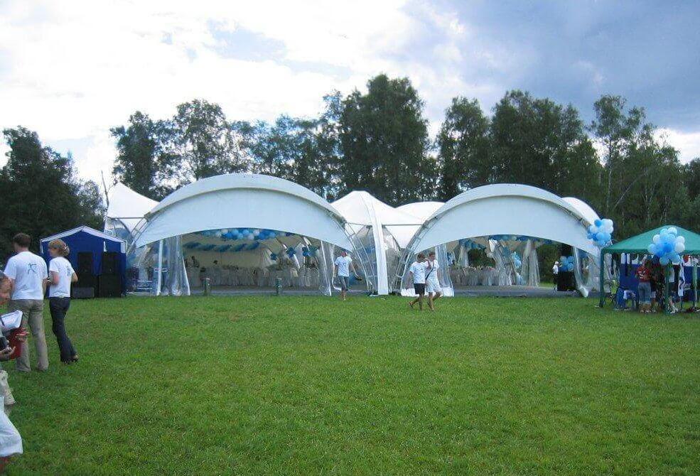 Тимбилдинг в шатре в подмосковье