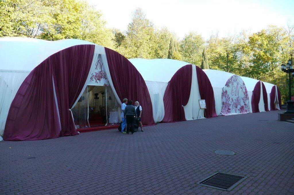 свадьба в шатре в подмосковье