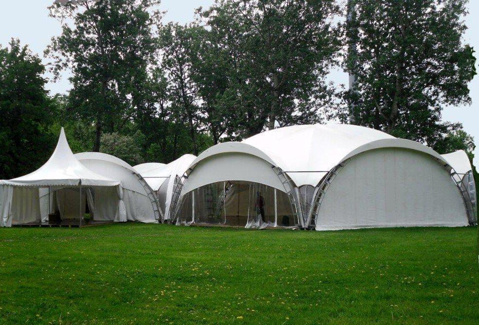 Свадьба в шатре в подмосковье 4