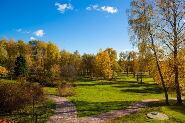 Новый парк в Морозовке