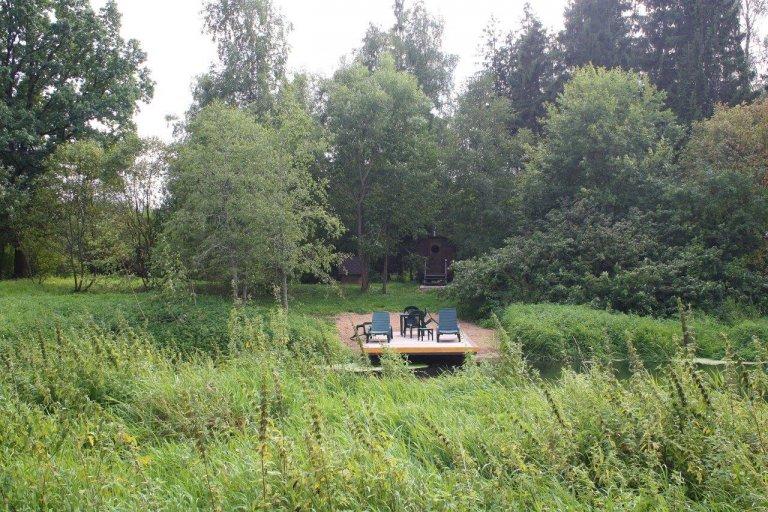 Аренда Бани бочки на берегу речки