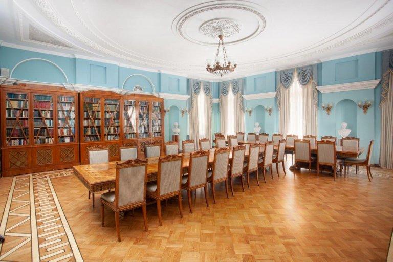 Библиотека зал для переговоров